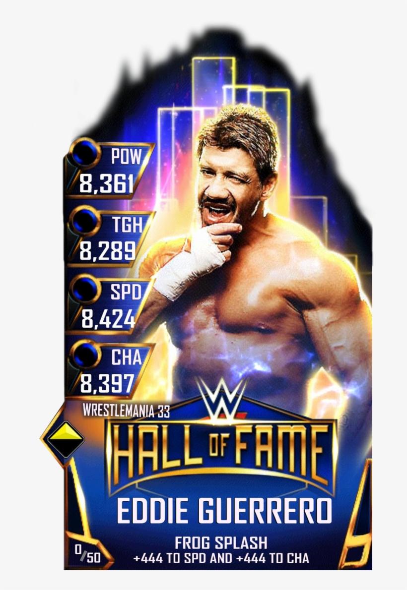 Eddieguerrero S3 14 Wrestlemania33 Halloffame - Wwe Supercard Wrestlemania 33 Cards, transparent png #3141736