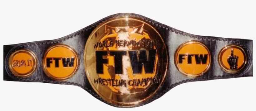Ecw Ftw Heavyweight Championship - Ecw Ftw Championship, transparent png #3141946