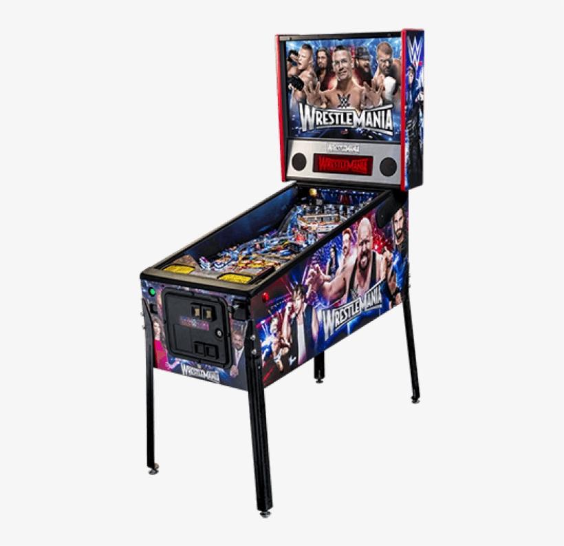 Wwe Pro Pinball Machine - Wwe Wrestlemania Pro Pinball Machine By Stern, transparent png #3144202
