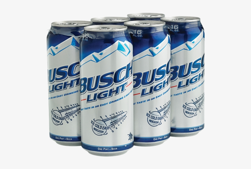 Busch Takes A Bit Of A Backseat To Anheuser-busch's - Busch Light Beer - 12 Pack, 12 Fl Oz Bottles, transparent png #3148475