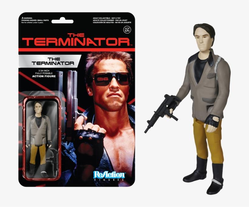 The Terminator One Reaction Figure - Terminator Action Figures, transparent png #3152631