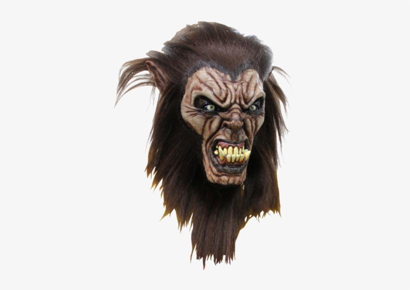 Man Wolf Halloween Horror Mask, transparent png #3153881