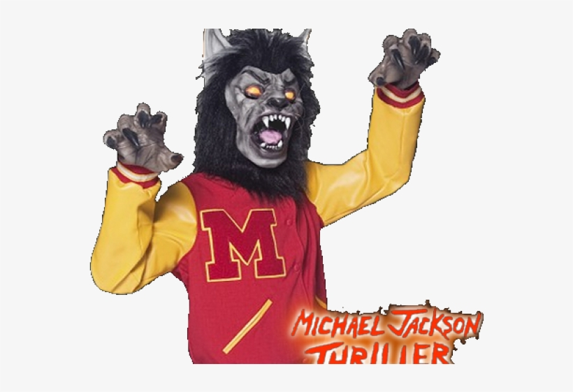 Wolfman Cliparts - Michael Jackson Thriller Wolf Costume, transparent png #3154452