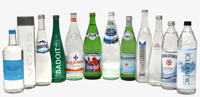 Our Top 12 Gold Medal Waters In Glass Bottles - Sparkling Water Glass Bottles, transparent png #3154551