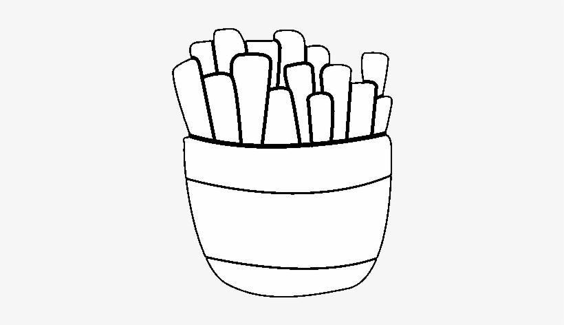 Desenho De Batatas Fritas Para Colorir Papas Fritas Para