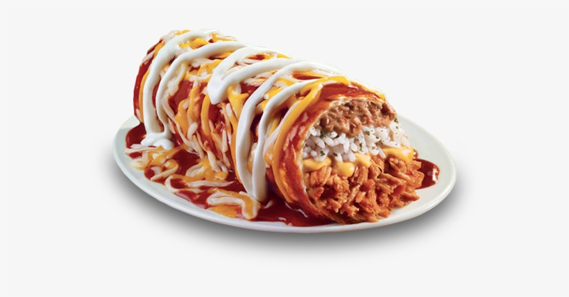 Source - Http - //www - Tacobell - Com/food/burritos - Smothered Burrito From Taco Bell, transparent png #3158338