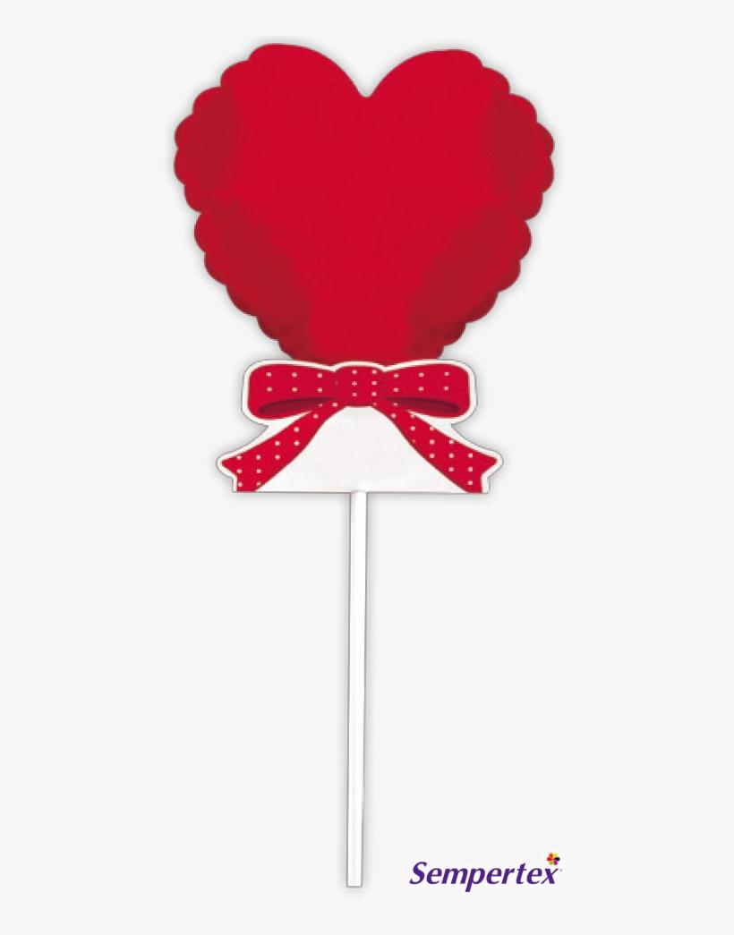 Globo Mensaje Corazón Rojo X 1 ¡escribe Tu Mensaje - Corazones Rojos, transparent png #3159426