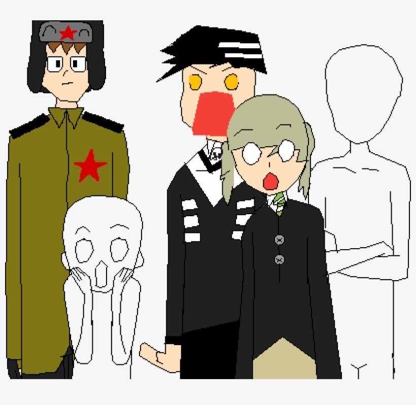 I Added Death The Kid And Maka Because Souleater User