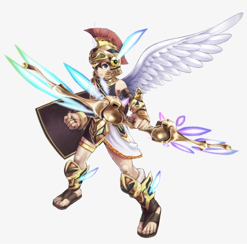 Pitthreesacredtreasures - Three Sacred Treasures Kid Icarus, transparent png #3160390
