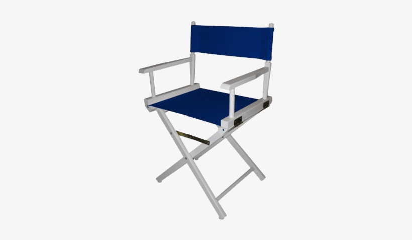 Blue Directors Chair Transparent Png Image Tv - Casual Home Director Chair Replacement Canvas, Purple, transparent png #3162529