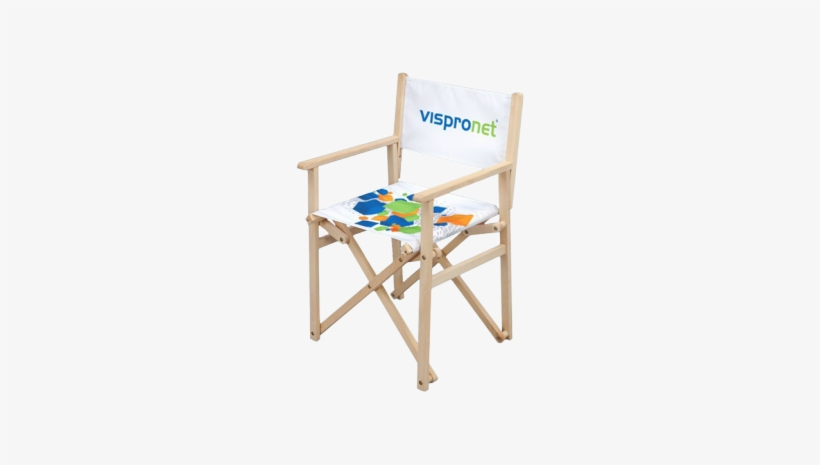 The Promotional Director's Chair With Your Custom Graphic - Promotional Director's Chair - Custom Advertising Chair, transparent png #3162747