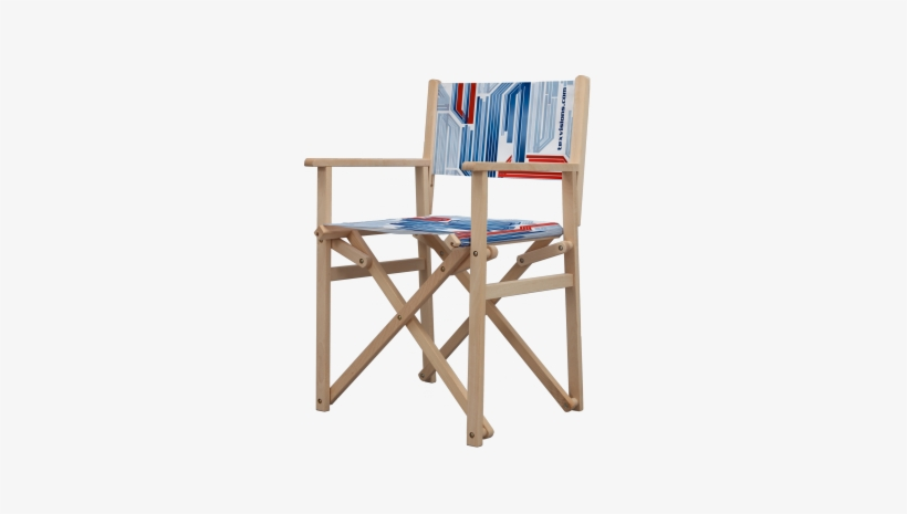 The Director Chair Is A Practical Advertising Display - Director's Chair, transparent png #3163010