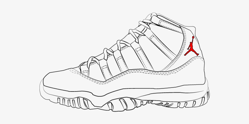 on sale 12b51 490d9 Air Jordan 11 Drawings - Sneakers