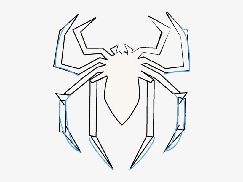 последнем эмблема человека паука картинки карандашом пороге или