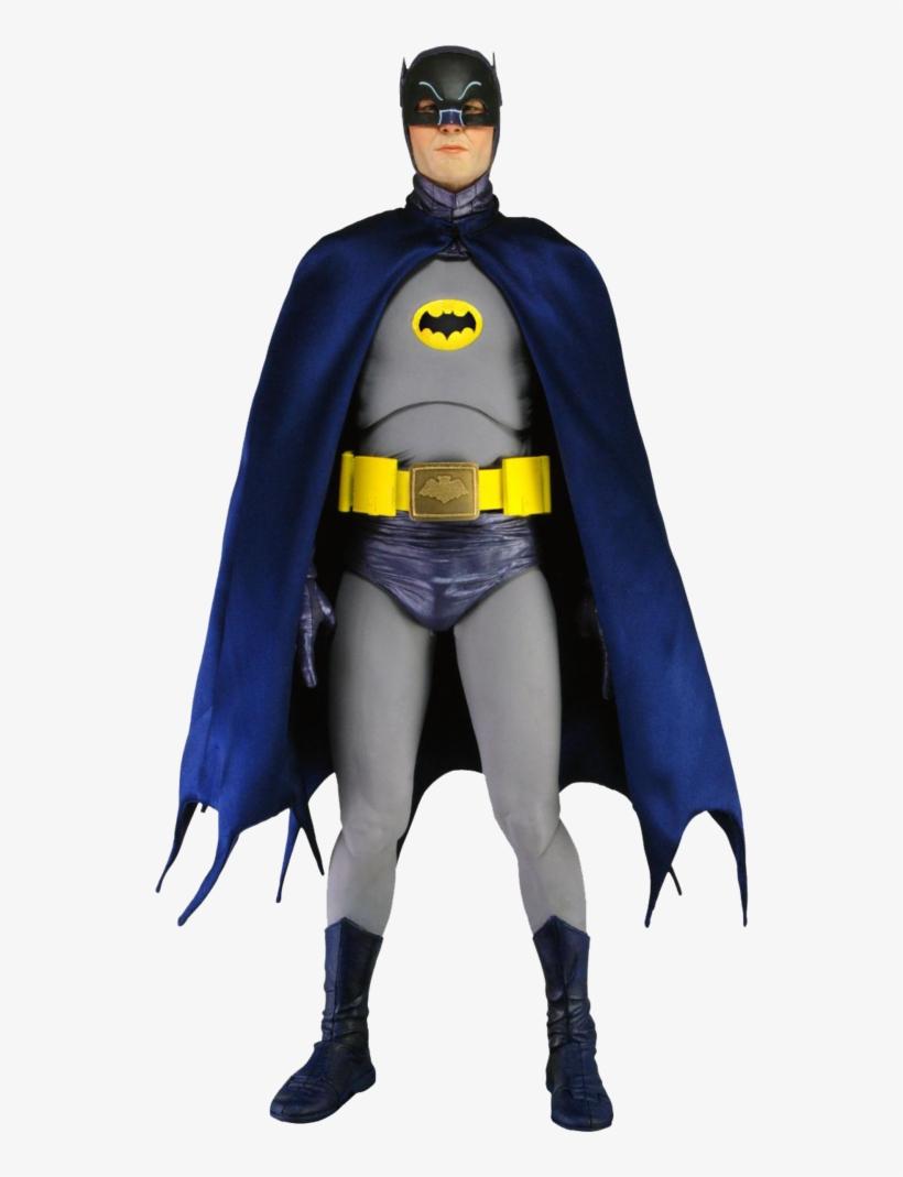 Batman 1964 Adam West - Batman Tv Series Adam West 1:4 Scale Action Figure, transparent png #3163408