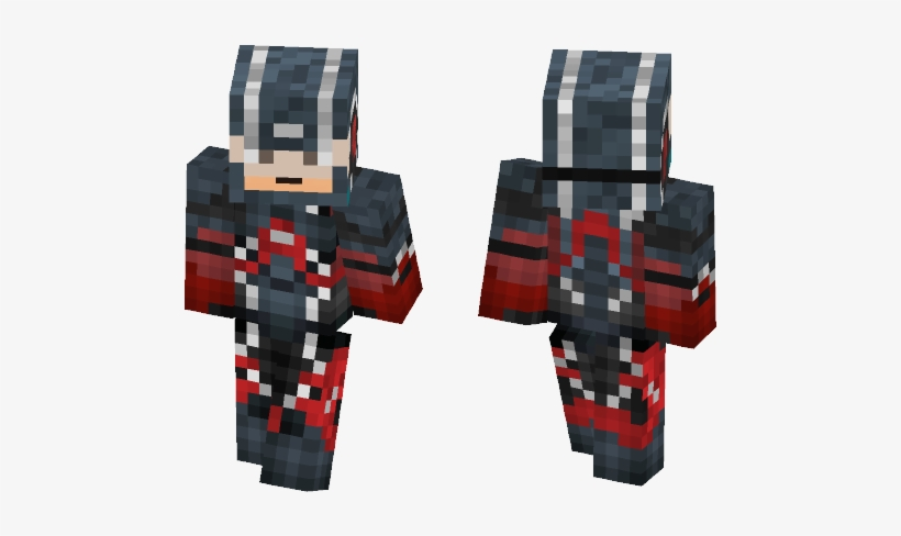 The Atom Minecraft Thanos Skin Free Transparent Png