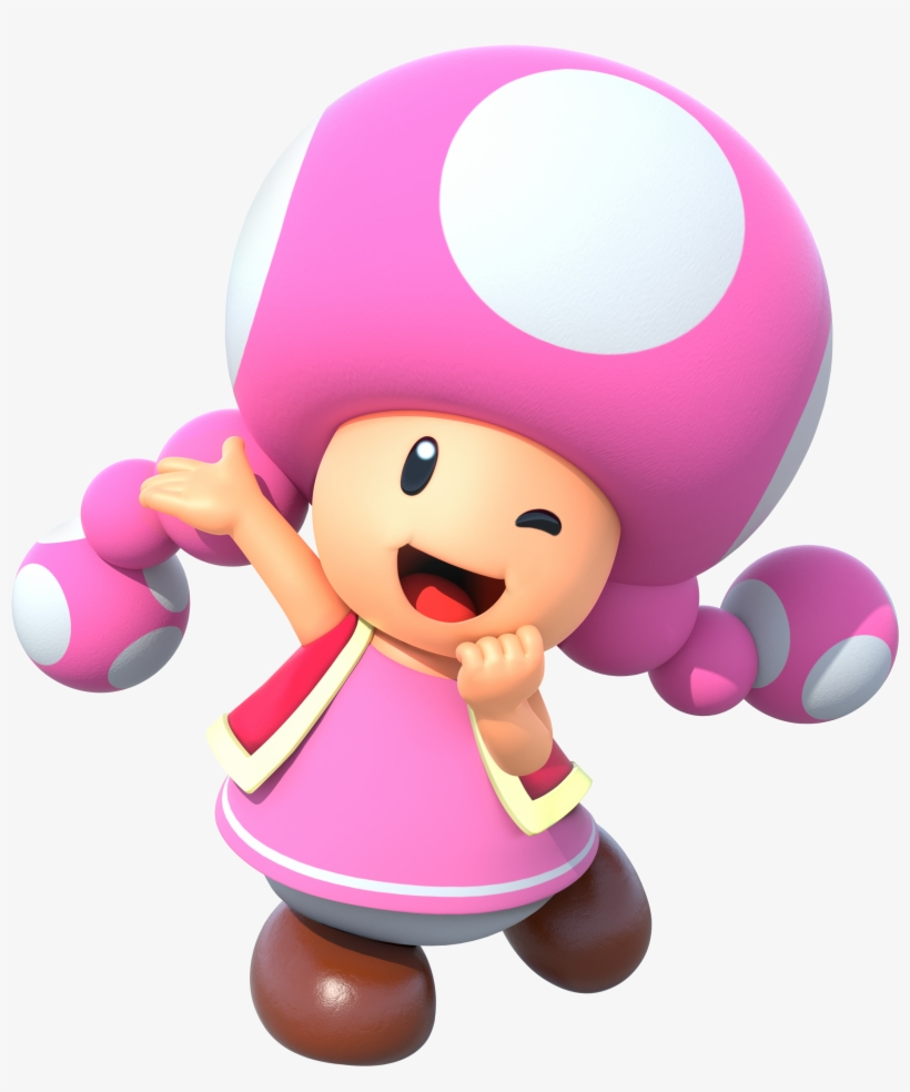 View Toadette Mario Party Png Png Captain Toad And Super