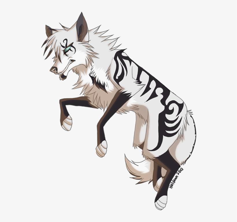 Bulletproof By Haildawn On Deviantart Anime Kitten, - Animal Anime Wolf, transparent png #3170009