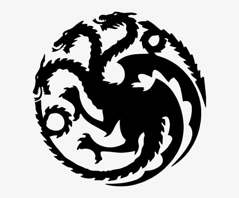 Dracarys If Anyone Wants A Transparent Targaryen Sigil - Game Of Thrones Targaryen Vector, transparent png #3170796
