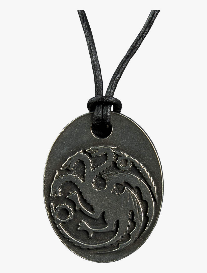 Game Of Thrones - Game Of Thrones - Targaryen Sigil Pendant, transparent png #3171032