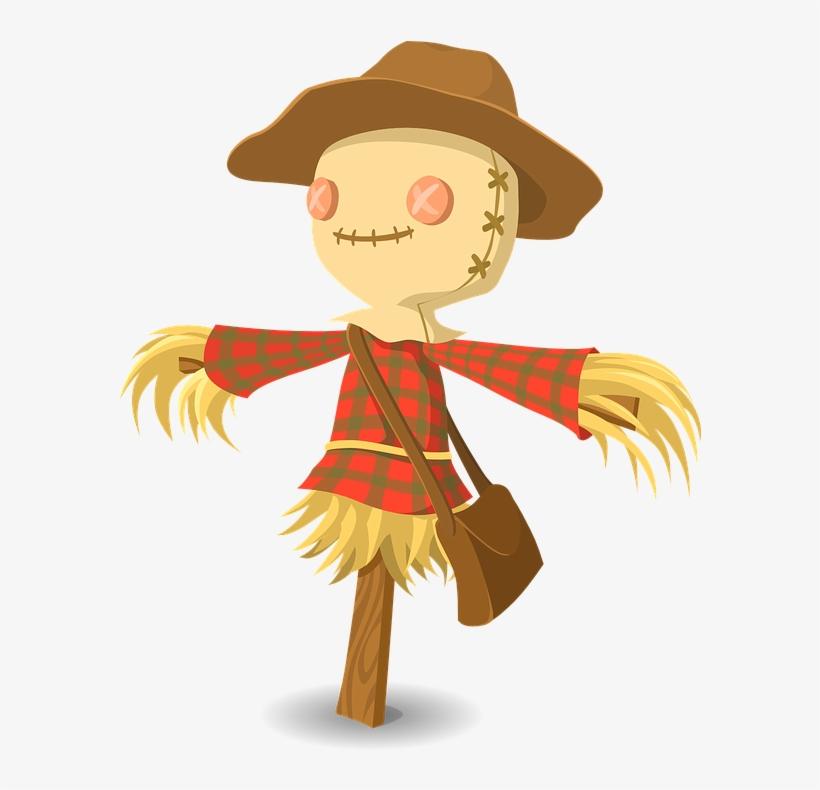 Scarecrow Graphics - Scarecrow Clipart, transparent png #3171517
