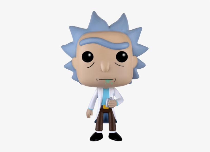 Vinyl Rick & Morty - Funko Pop Animation: Rick & Morty - Rick Action, transparent png #3171886