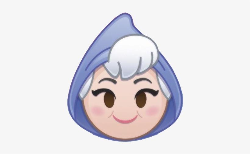 Emojiblitzfairygodmother - Disney Emoji Blitz Fairy Godmother, transparent png #3174562