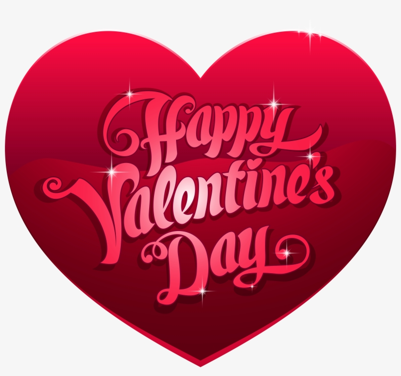 Valentine's Day Heart Png Clip Art Image, Is Available - Happy Valentine Day Hearts, transparent png #3177904