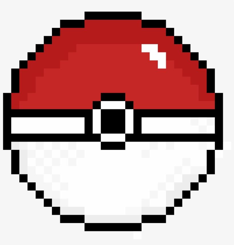 Pokeball - Pixel Art Happy Face, transparent png #3178264