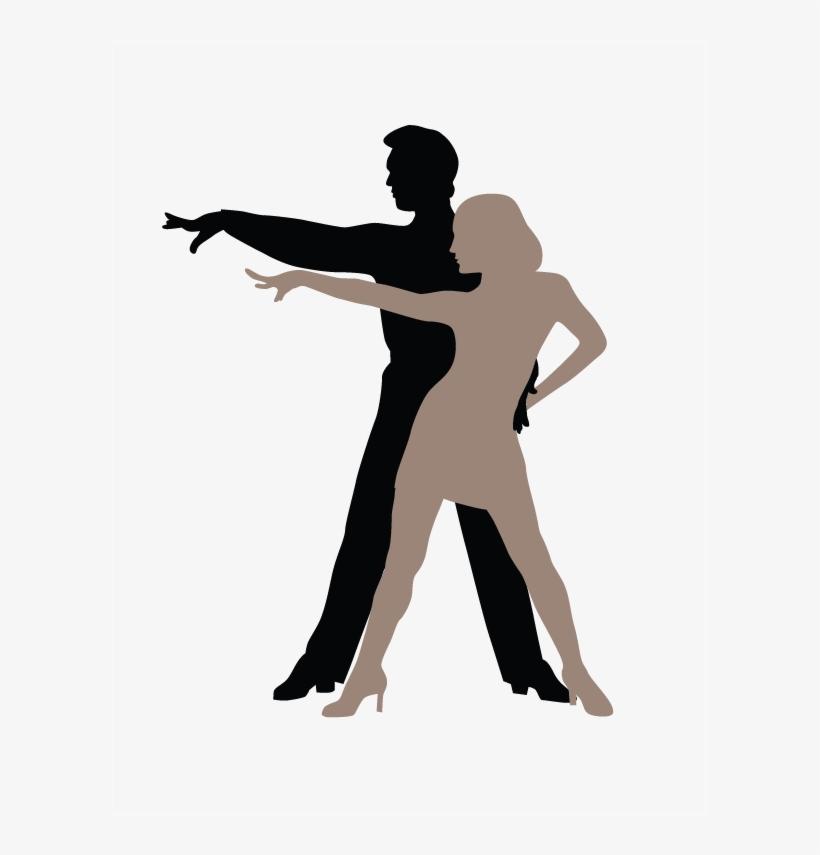 The Hustle - Siluetas De Baile Latino, transparent png #3178602