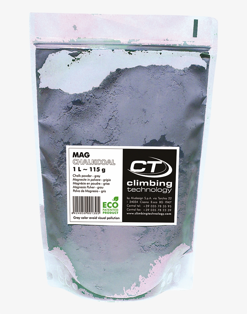 Grey Colour Chalk Powder, Less Visual Impact, Respect - 8 C Plus Magnessium Blister 1 Liter, transparent png #3179791