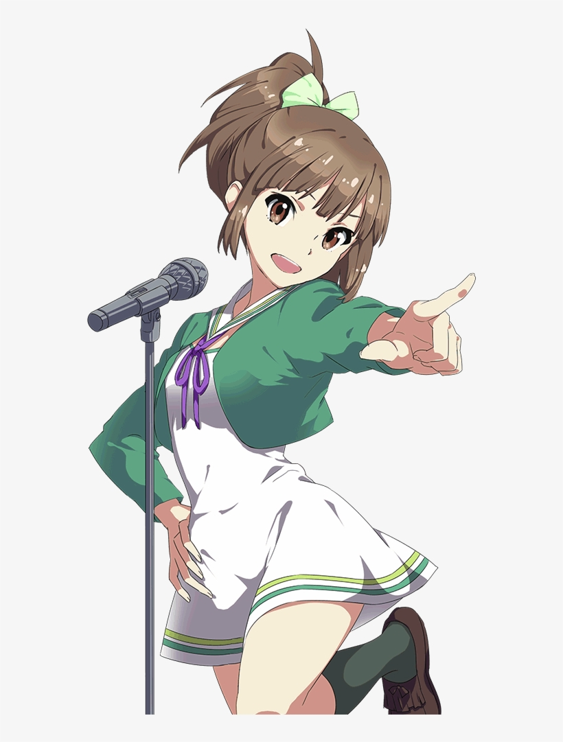 Stagenotenshi Chara5 - Wake Up Girls Anime Png, transparent png #3180092