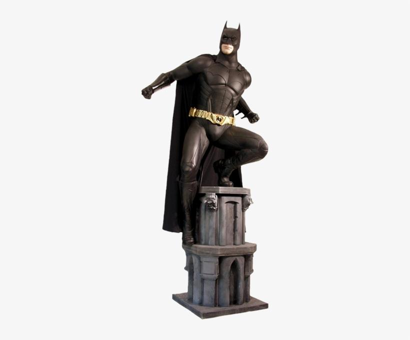 1 Scale Life-size Statue - Batman Begins Statue Life Size, transparent png #3180334