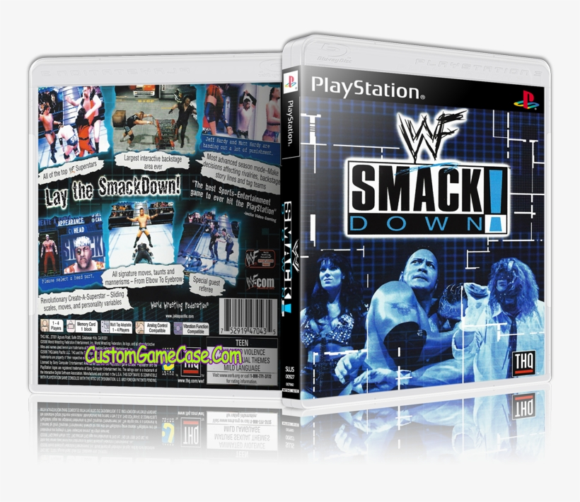 Sony Playstation 1 Psx Ps1 - Wwf Smackdown Playstation Ps1