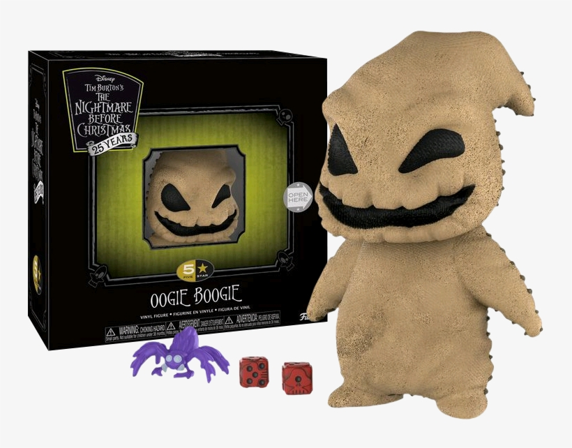 The Nightmare Before Christmas - Funko 5 Star Nightmare Before Christmas, transparent png #3188633