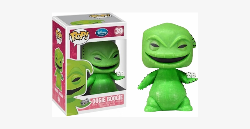 Vinyl Figurine-the Nightmare Before Christmas Oogie - Nightmare Before Christmas Funko Pop Oogie Boogie, transparent png #3188678