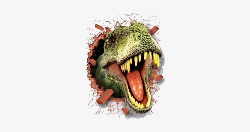 3d Stickers [miaiden™] 3d Stickers [miaiden™] - 3d Dinosaur Wall Decors Home Wall Stickers, transparent png #3189331