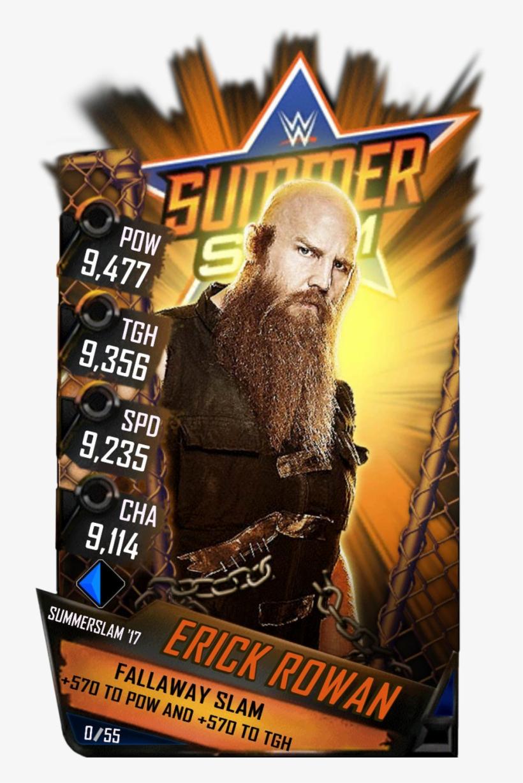 Supercard Rowan S4 16 Beast Fusion Supercard Rowan - Wwe Supercard Summerslam 17 Finn Balor, transparent png #3189600