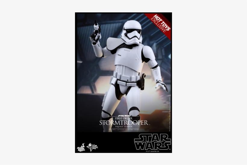 Mms 316 First Order Stormtrooper Squad Leader 1/6 - Star Wars First Order Stormtrooper Officer, transparent png #3190584