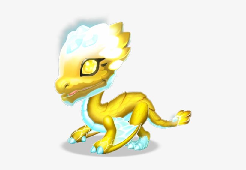 Light Dragon Baby - Dragon De Luz Dragon Mania Legends, transparent png #3190733
