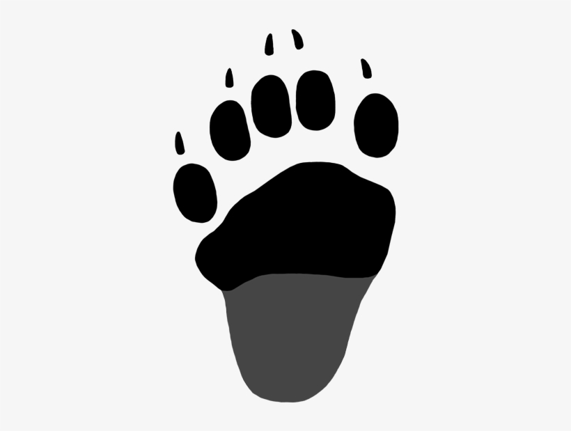 Black Bear Paw Print For Kids Black Bear Hind Paw Print Free Transparent Png Download Pngkey It's high quality and easy to use. black bear hind paw print