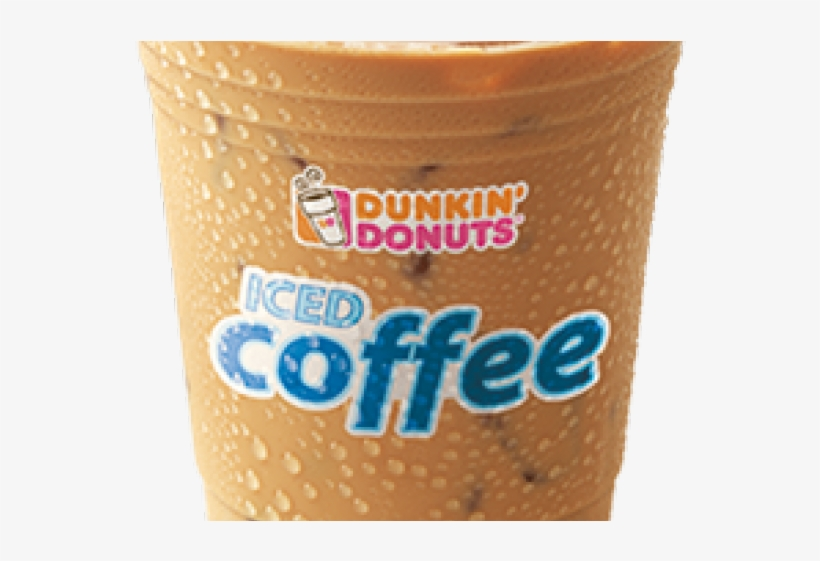 Dunkin Donuts Clipart Ice Coffee - Dunkin Donuts Iced Coffee Png, transparent png #3193042