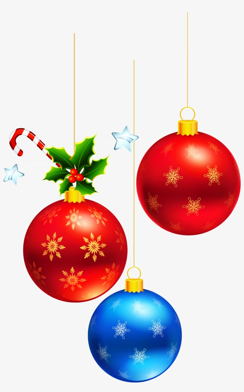 Hanging Christmas Ornament Png Transparent Download - Christmas Balls Clipart Transparent, transparent png #3194662