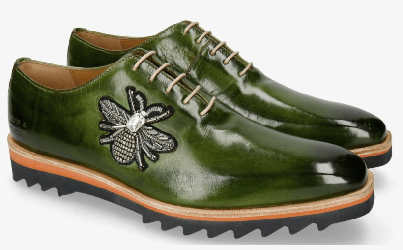 factory price 29e2d a3486 Oxford Shoes Jeff 26 Ultra Green Patch Bee Stone - Melvin ...