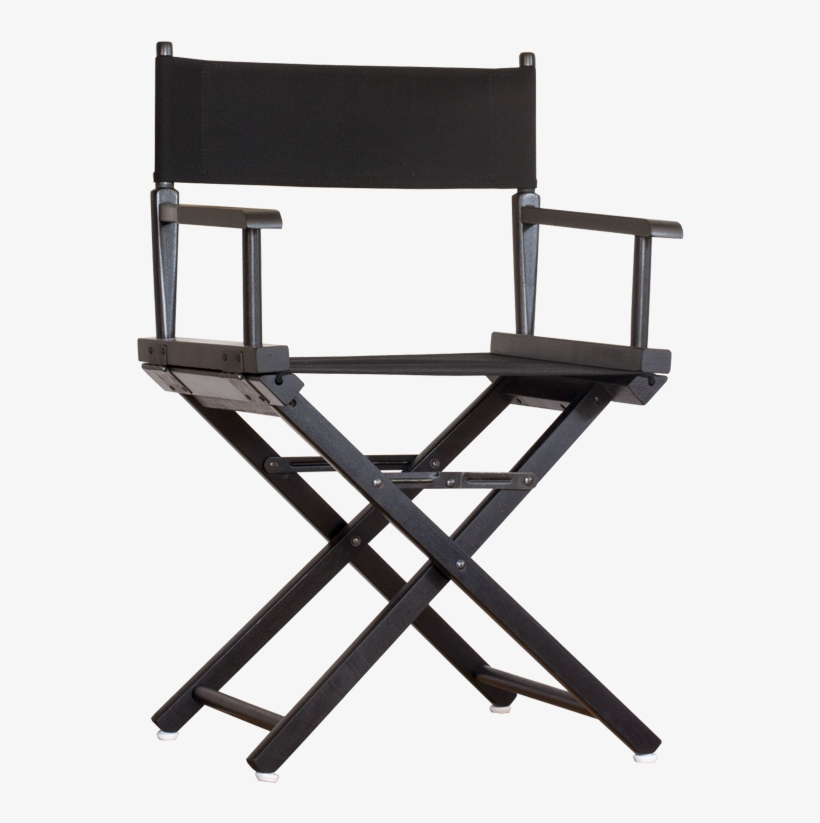 All Our Chairs Are Of High Quality And Made To Last - Black Director Chair, transparent png #3197962