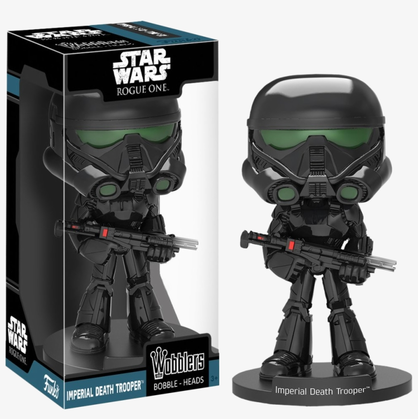 Star Wars Rogue One Imperial Death Trooper Bobble Head - Star Wars Death Trooper Funko, transparent png #3199067