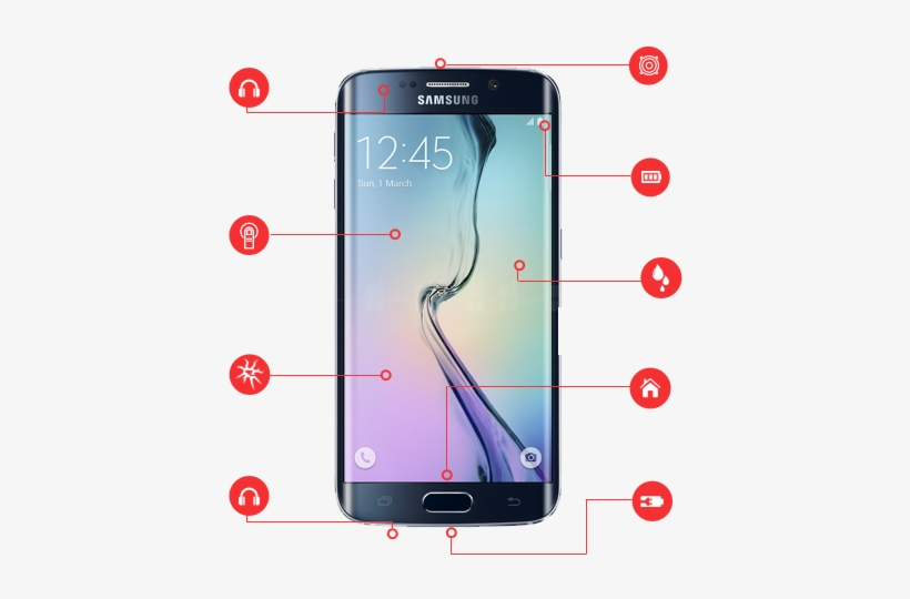 Cracked Screen Repair Costs Up To $300 - Samsung S Series Price In Pakistan, transparent png #3199859