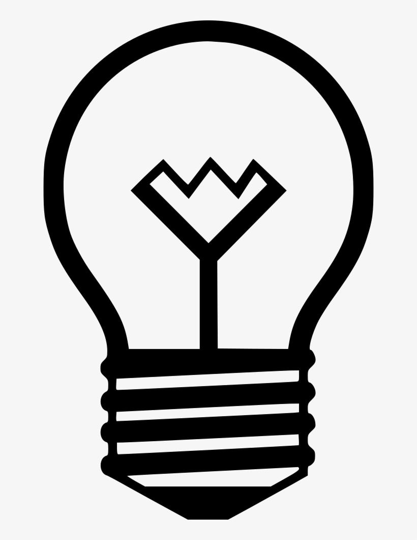 Light Bulb Lightbulb Comments - Incandescent Light Bulb, transparent png #320060