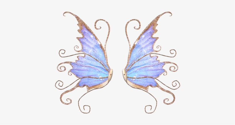 Image Transparent Angels Drawing Butterfly - Frost Fairy Wings Drawing, transparent png #320233