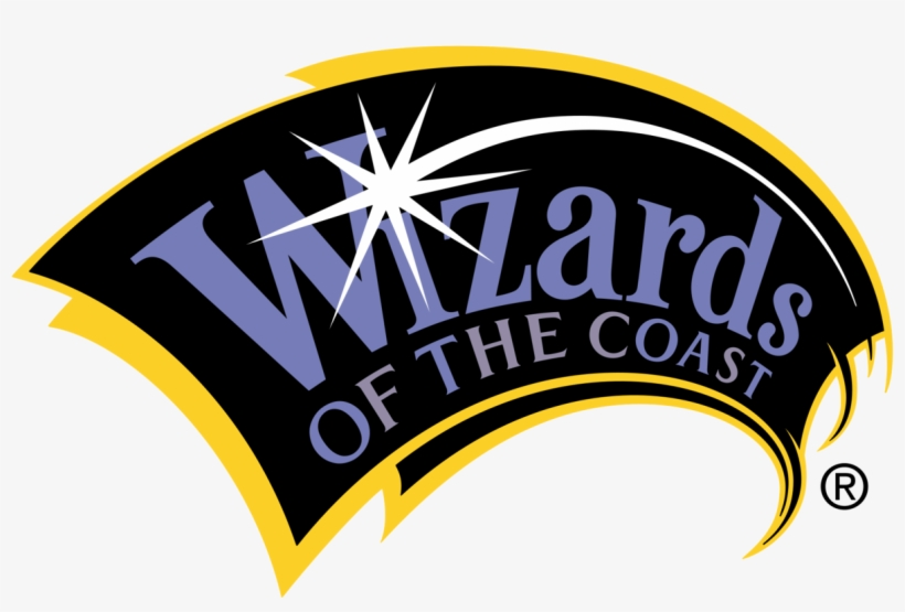 Wizards Of The Coast - Wizard Of The Coast Logo, transparent png #320258